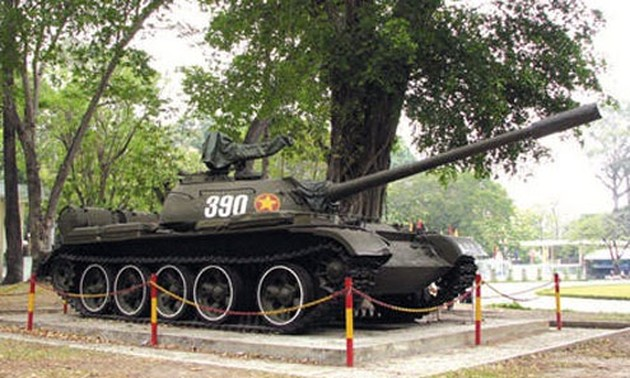 Tank 390 recognized as a national treasure