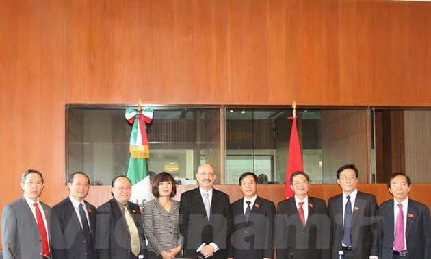 Vietnam, Mexico enhance legislative relations