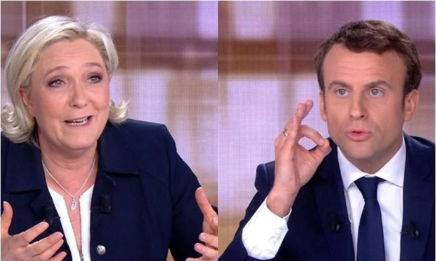 French presidential candidates join in final TV debate