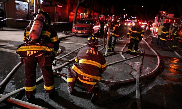 Casualties in blazes in US, India on the rise