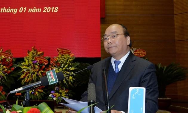 Nguyên Xuân Phuc: créer une force moderne de lutte contre la cybercriminalité