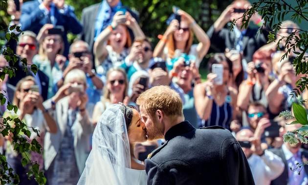 Mariage princier: une cérémonie moderne et ensoleillée pour Harry et Meghan