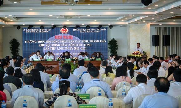 Conférence des permanents des conseils populaires du delta du Mékong
