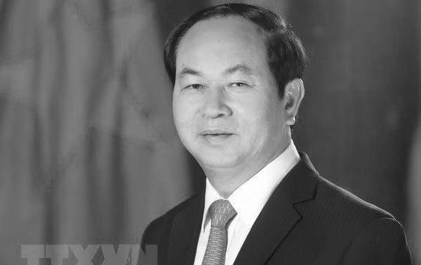 Décès du président Trân Dai Quang: des partis politiques présentent leurs condoléances