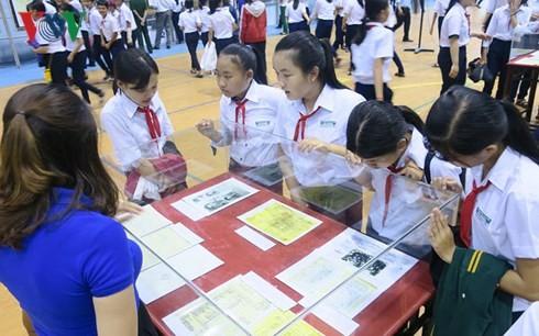 Exposition sur Hoàng Sa et Truong Sa à Binh Thuân