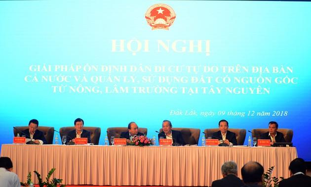 Le Premier ministre demande un contrôle strict des mouvements spontanés de populations