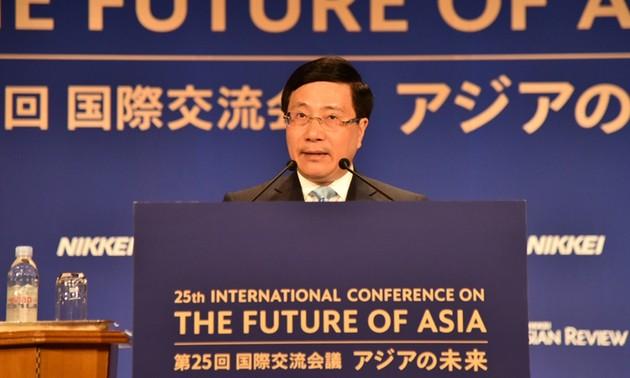 Le Vietnam plaide pour le respect du droit international et la promotion des partenariats