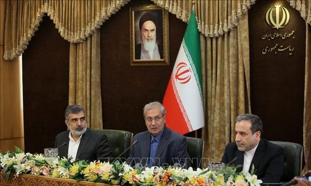 Nucléaire: l'Iran somme l'Europe de sauver l'accord