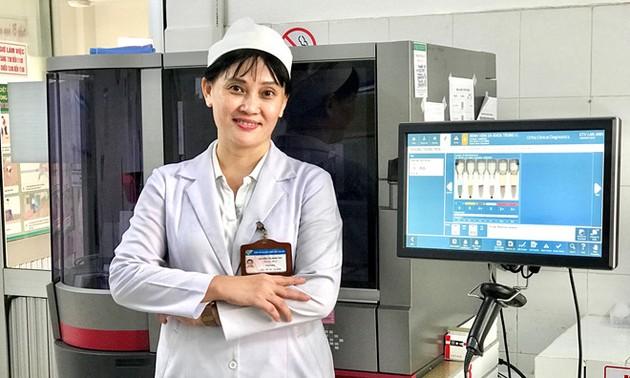 Le logiciel GCLP-BLOOD de Nguyên Thi Minh Thy