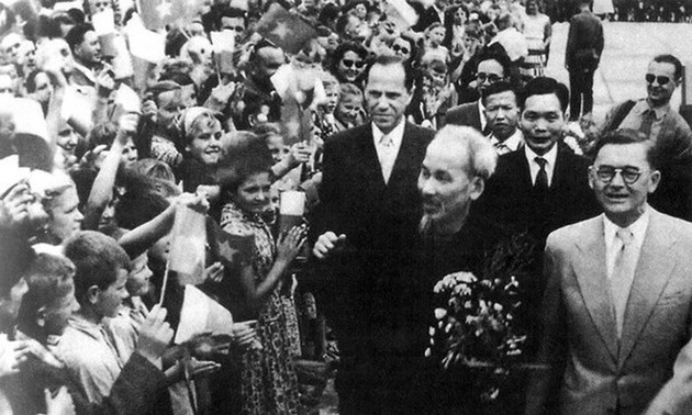 Le diplomate Hô Chi Minh