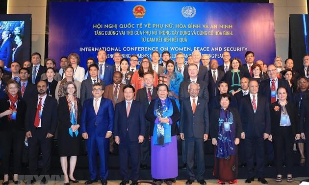 Renforcement du rôle des femmes dans l'édification et la consolidation de la paix