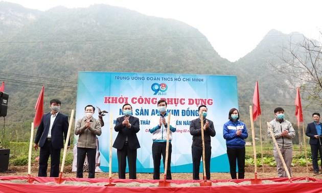 Le mois de la jeunesse débute à Cao Bang et Dak Lak