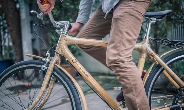 Un vélo en bambou «made in Vietnam»