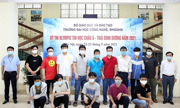 Olympiades d'informatique d'Asie-Pacifique: deux médailles d'or pour le Vietnam