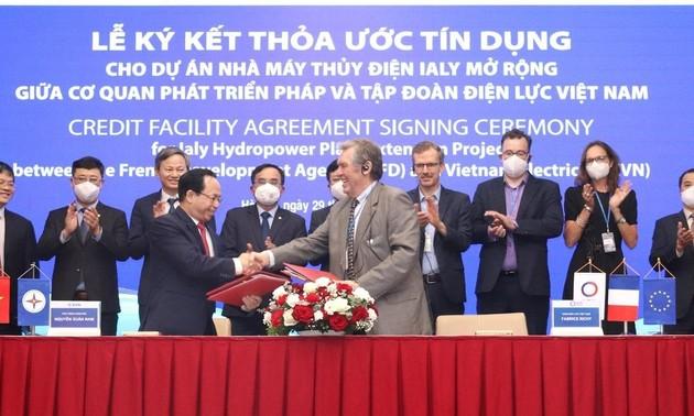 L'AFD et EVN main dans la main pour l'extension d'Ialy