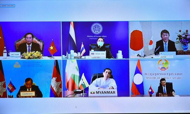 14e réunion ministérielle Mékong-Japon