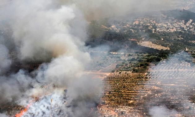Le chef de l'ONU réitère son appel au calme à la frontière libano-israélienne