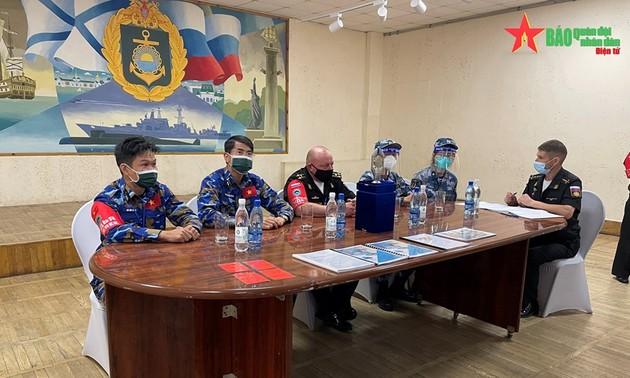 Army Games 2021: l'unité de chimistes du Vietnam est partie pour la Chine