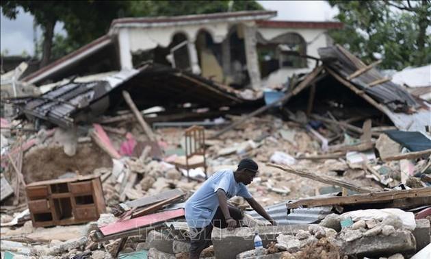 Séisme en Haïti: Le bilan passe à 2.189 morts et plus de 12.000 blessés