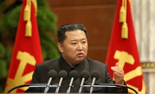 RPDC: Kim Jong-un convoque une réunion du Bureau politique
