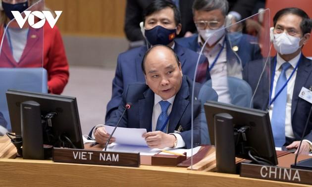 Climat et sécurité: Nguyên Xuân Phuc s'exprime au Conseil de sécurité