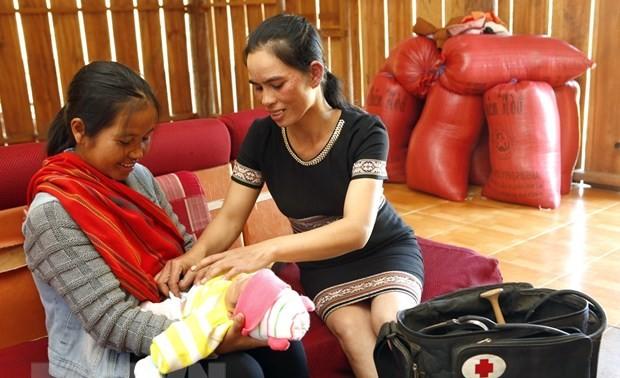 Lancement d'un projet de réduction de la mortalité maternelle dans les zones de minorité ethniques
