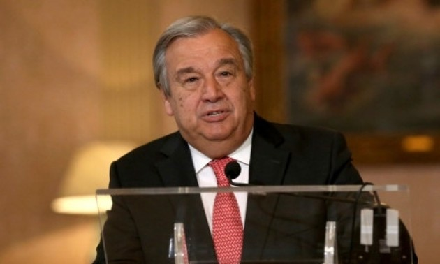 Climat: le secrétaire général de l'ONU encourage les jeunes à faire pression sur les gouvernements
