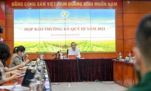 Exportations agro-sylvicole: un chiffre d'affaires de 35,5 milliards de dollars en neuf mois