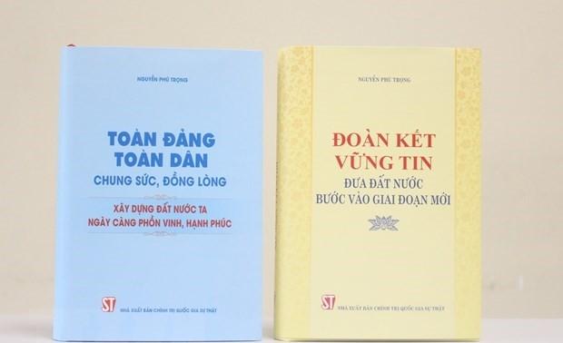 Séminaire sur deux livres du secrétaire général Nguyên Phu Trong