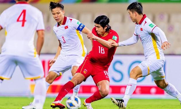 Éliminatoires de la Coupe du monde de football: le Vietnam s'incline 2-3 devant la Chine