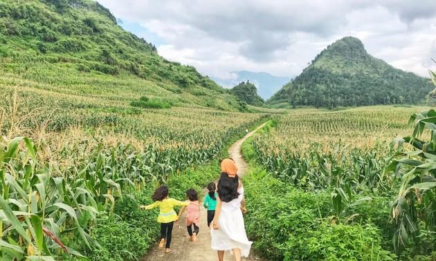 Rời thành phố chật chội để sống bình yên tại Nặm Đăm, Hà Giang