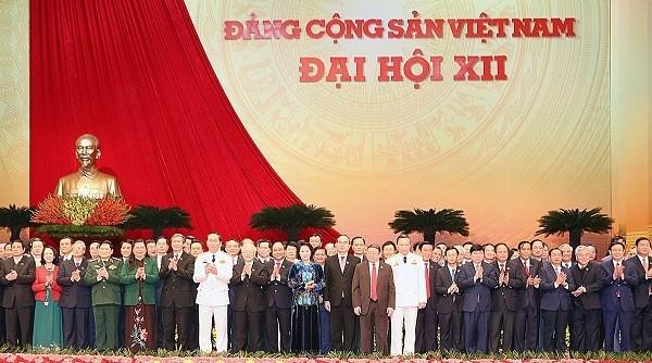 各国の政党、第12回党大会の成功に祝電