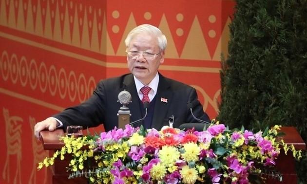 チョン氏:「全民族の潜在力を発揮させていく必要がある」
