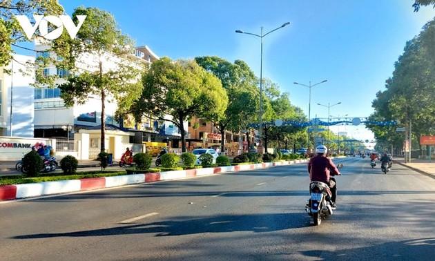 緑あふれるブオン・マー・トート市