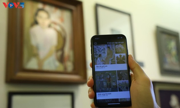 ベトナム美術博物館を紹介するアプリ「iMuseum VFA」