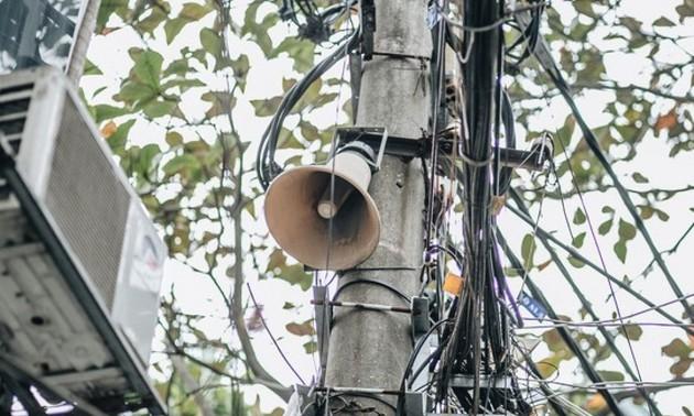 新型コロナ予防宣伝で果たす拡声器の役割