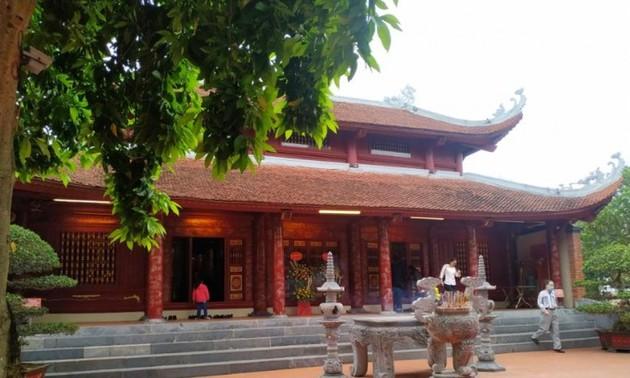 国境線上にある歴史遺跡サータック神社