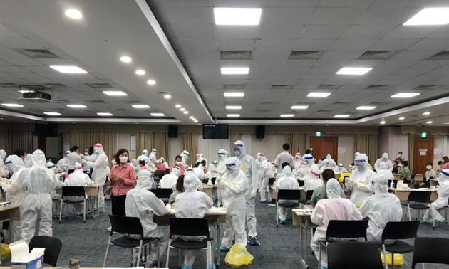 工業団地での新型コロナ予防と生産活動の両立に取り組むバクニン省
