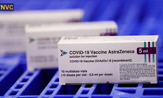 新型コロナワクチン予防接種を加速しているベトナム