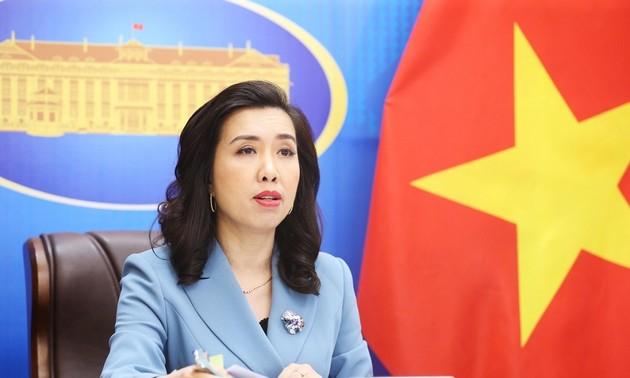 外務省報道官、海上問題に対するベトナムの立場を再確認