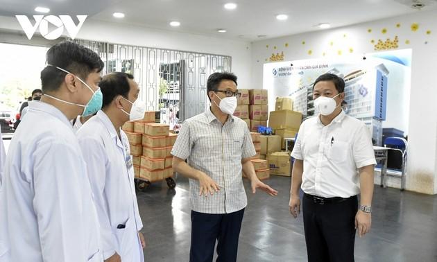 HCM市、重篤な新型コロナウイルス患者の治療に注力