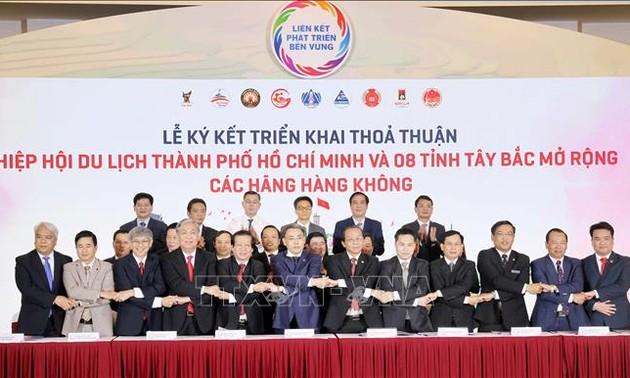 武德担出席胡志明市与西北地区8省旅游合作对接发展会议