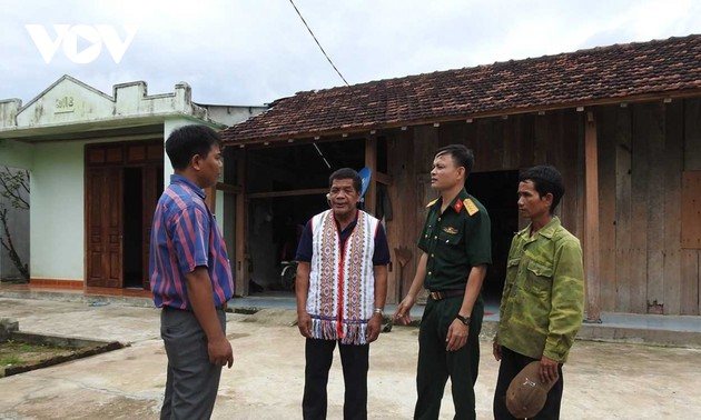 阿布龙长老——昆嵩省沙泰县摩来边境地区勒僈族人的信心依靠