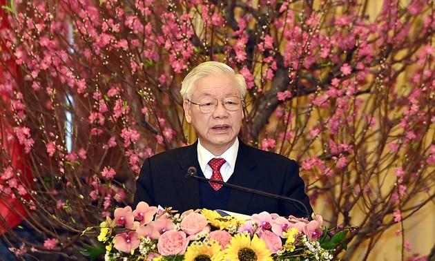 越共中央总书记、国家主席阮富仲2021年辛丑春节贺词