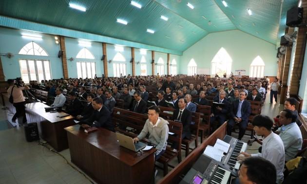 确保嘉莱省少数民族同胞的信仰自由