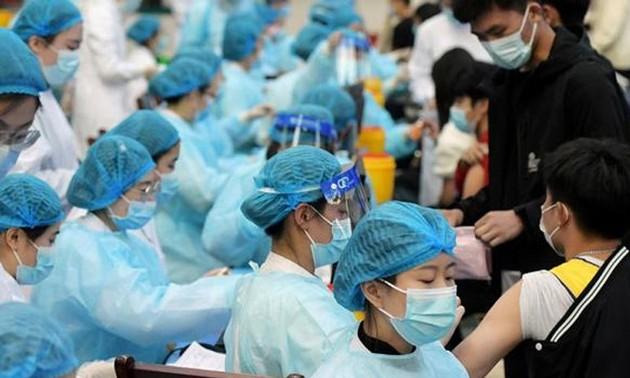 中国新冠肺炎疫苗接种超10亿剂次