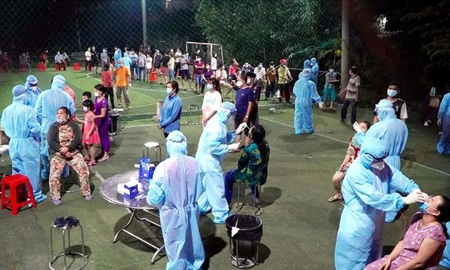 越南自6月20日18时至6月21日5时新增47例新冠肺炎确诊病例