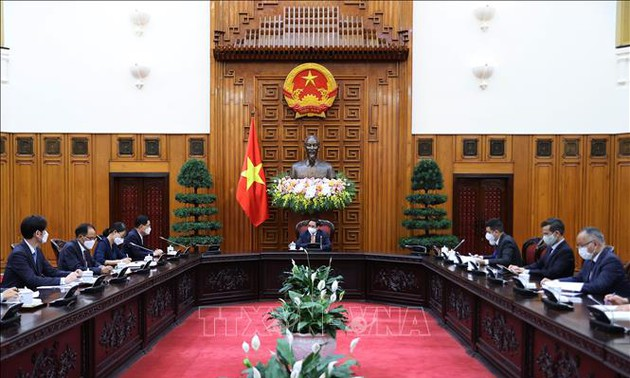 越南希望韩国帮助提供新冠肺炎疫苗