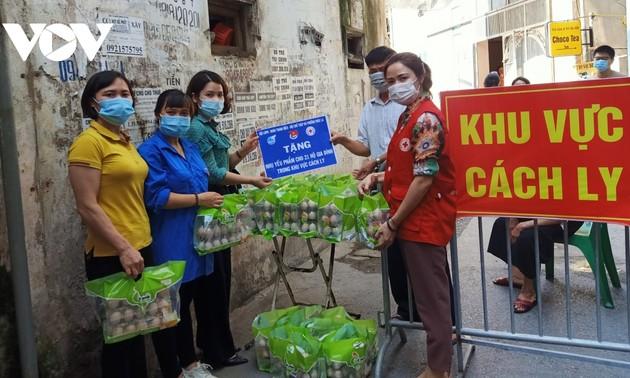 奋力支援防疫一线的青年志愿者