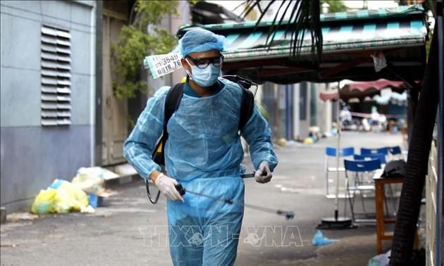 最近24小时,越南新增10489例新冠肺炎确诊病例